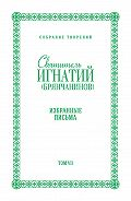 Святитель Игнатий Брянчанинов -Собрание творений. Том VII. Избранные письма