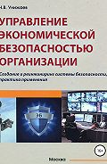 Николай Унижаев -Управление экономической безопасностью организации