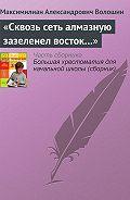 Максимилиан Волошин -«Сквозь сеть алмазную зазеленел восток…»