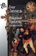 Светлана Левит, Георг Зиммель - Избранное. Проблемы социологии
