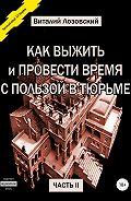 Виталий Лозовский -Как выжить и провести время с пользой в тюрьме. Часть 2