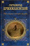 Сигизмунд Кржижановский -Воспоминания о будущем