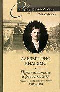 Альберт Рис Вильямс - Путешествие в революцию. Россия в огне Гражданской войны. 1917-1918