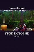 Андрей Богачук -Урок истории. Рассказ