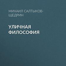 Михаил Салтыков-Щедрин - Уличная философия