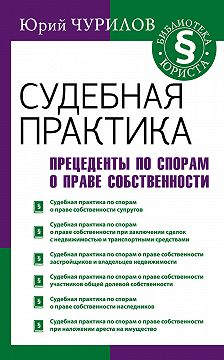 Юрий Чурилов - Судебная практика. Прецеденты по спорам о праве собственности
