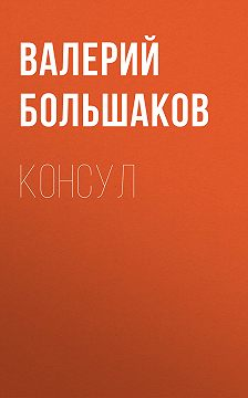 Валерий Большаков - Консул