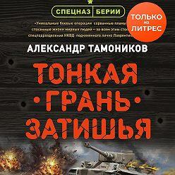 Александр Тамоников - Тонкая грань затишья