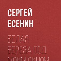 Сергей Есенин - Белая береза под моим окном…