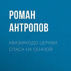 Роман Антропов - Квазимодо церкви Спаса на Сенной