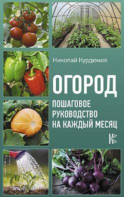 Николай Курдюмов - Огород. Пошаговое руководство на каждый месяц