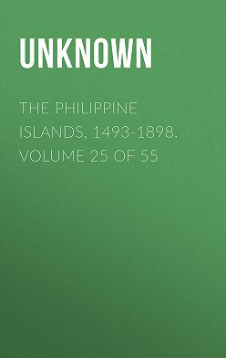 Unknown - The Philippine Islands, 1493-1898. Volume 25 of 55
