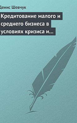 Денис Шевчук - Кредитование малого и среднего бизнеса в условиях кризиса и финансовой нестабильности