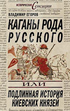 Владимир Егоров - Каганы рода русского, или Подлинная история киевских князей