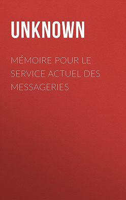 Unknown Unknown - Mémoire pour le service actuel des messageries