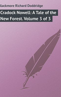 Richard Blackmore - Cradock Nowell: A Tale of the New Forest. Volume 3 of 3