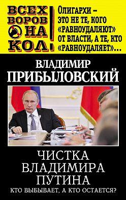Владимир Прибыловский - Чистка Владимира Путина. Кто выбывает, а кто остается?