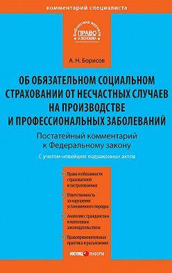 Александр Борисов - Комментарий к Федеральному закону от 24 июля 1998 г. №125-ФЗ «Об обязательном социальном страховании от несчастных случаев на производстве и профессиональных заболеваний» (постатейный)
