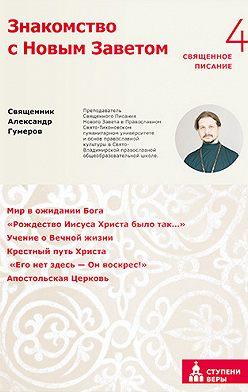 Александр Гумеров - Знакомство с Новым Заветом. Четвертая ступень. Священное Писание