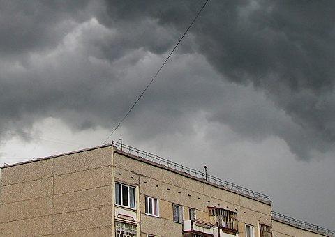 Ураган, гроза и шторм