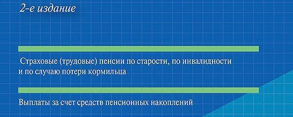 Пенсии в схемах. 2-е издание. Учебное пособие