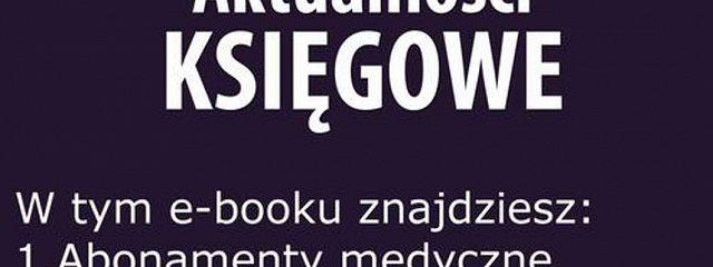 Aktualności księgowe, wydanie styczeń 2016 r.