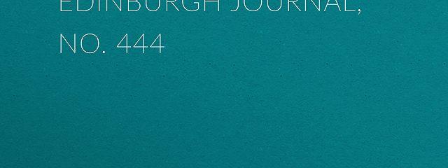 Chambers's Edinburgh Journal, No. 444