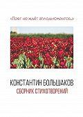 Константин Большаков -Поэт не ждёт аплодисментов… Сборник стихотворений