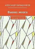 Александр Барышников -Вывих мозга. Рассказы истатьи