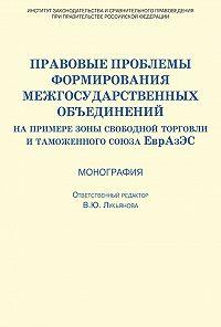 Коллектив Авторов -Правовые проблемы формирования межгосударственных объединений (на примере зоны свободной торговли и таможенного союза ЕврАзЭС)