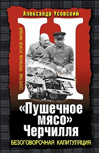 Александр Усовский - «Пушечное мясо» Черчилля