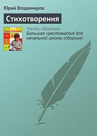 Юрий Владимиров -Стихотворения
