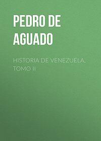 Pedro Aguado -Historia de Venezuela, Tomo II