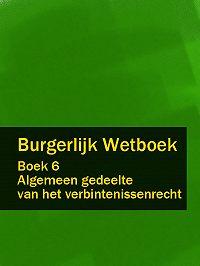 Nederland - Burgerlijk Wetboek boek 6