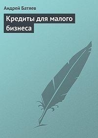 Андрей Батяев - Кредиты для малого бизнеса