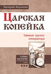 Валерий Воронин - Царская копейка. Тайный проект императора