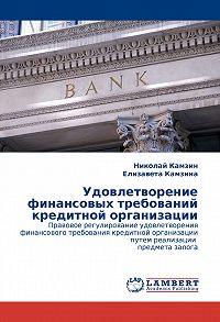 Николай Камзин -Удовлетворение финансовых требований кредитной организации