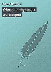 Евгений Новиков -Образцы трудовых договоров