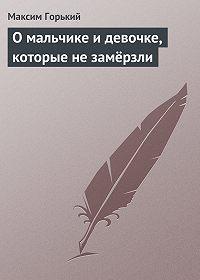 Максим Горький -О мальчике и девочке, которые не замёрзли