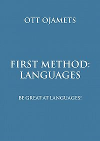 Ott Ojamets - First method – languages