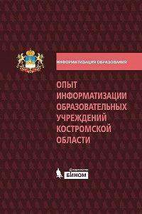 Коллектив Авторов -Опыт информатизации образовательных учреждений Костромской области: методический сборник