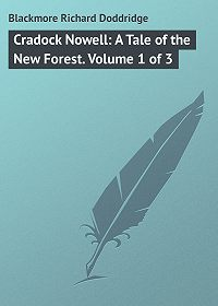 Richard Blackmore -Cradock Nowell: A Tale of the New Forest. Volume 1 of 3