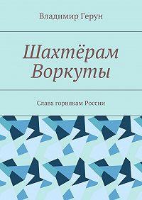 Владимир Герун -Шахтёрам Воркуты. Слава горнякам России