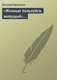Василий Брусянин -«Жизнью пользуйся, живущий»…