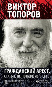 Виктор Топоров - Гражданский арест. Статьи, не попавшие в Сеть (сборник)