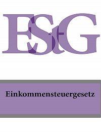 Deutschland - Einkommensteuergesetz – EStG