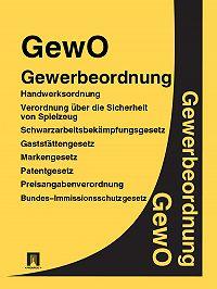 Deutschland -Gewerbeordnung – GewO