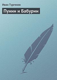 Иван Тургенев - Пунин и Бабурин