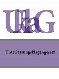 Deutschland -Unterlassungsklagengesetz – UKlaG