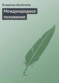 Владимир Шулятиков -Международное положение